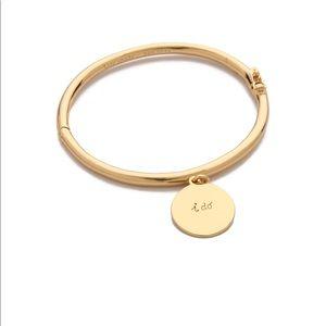 """Kate Spade """"I do"""" bangle bracelets with charm"""